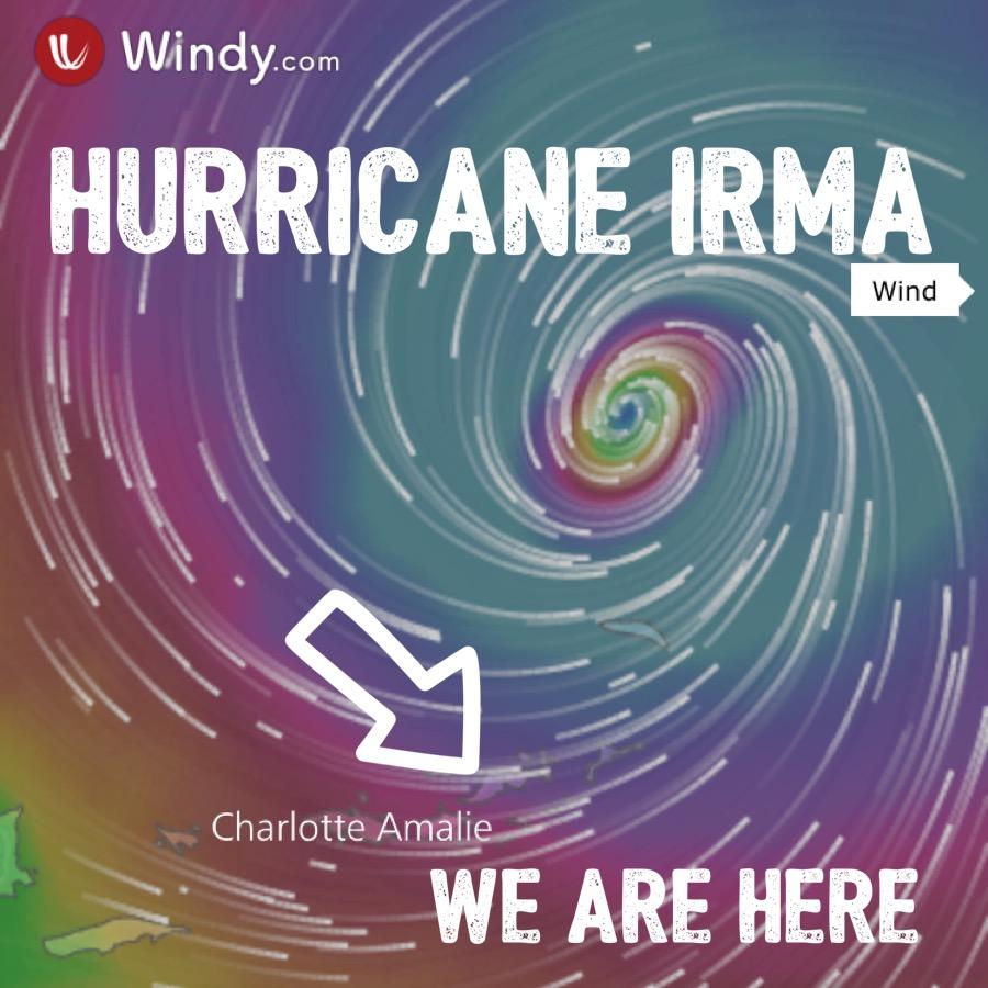 windy com irma